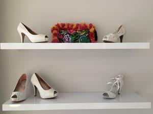 Peu de personnes exposent leurs chaussures - il est préférable de bien les ranger