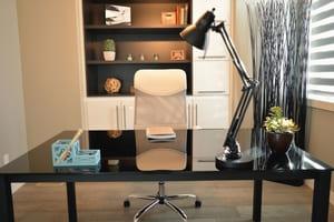 Le bureau, une première pièce souvent facile à vider