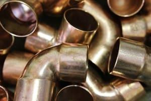Le cuivre sert aussi à fabriquer des tuyaux de plomberie