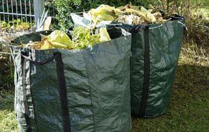 Les déchets verts posent encore problème en termes  d'écologiedes emballages