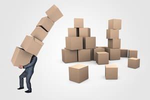 Faire ses cartons seul - une bonne idée pour moins payer les déménageurs