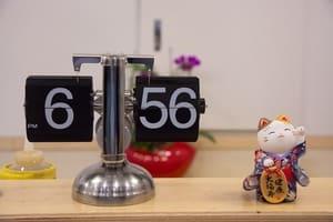 Les horloges vous aident à maintenir un bon rythme de vie