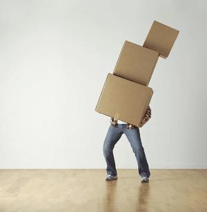 Le nombre de cartons nécessaires ne dépend pas que de la taille du logement