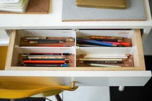 Si vous n'avez pas besoin de tout ce qui traine dans les tiroirs, il faut vous en débarrasser