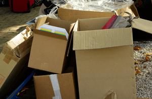Pas de place pour le désordre, organisez correctement vos cartons
