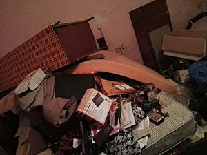 Les propriétaires peuvent être surpris de retrouver leur appartement dans un désordre total avec un locataire syllogomane