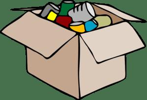 Le rangement à l'intérieur de chaque carton nécessite beaucoup de précautions