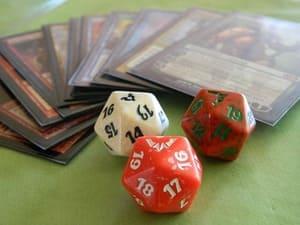 Regardez bien le nom de vos cartes Magic pour en estimer la valeur