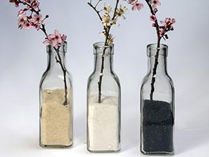 Avec un peu d'imagination, vous pouvez effectivement conserver et recycler des bouteilles en verre