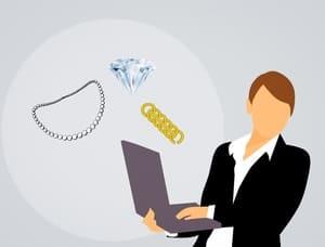Des sites internet de courtier d'achat/vente de bijoux existent