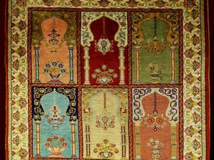 Les tapis très anciens sont aussi très précieux, le plus souvent